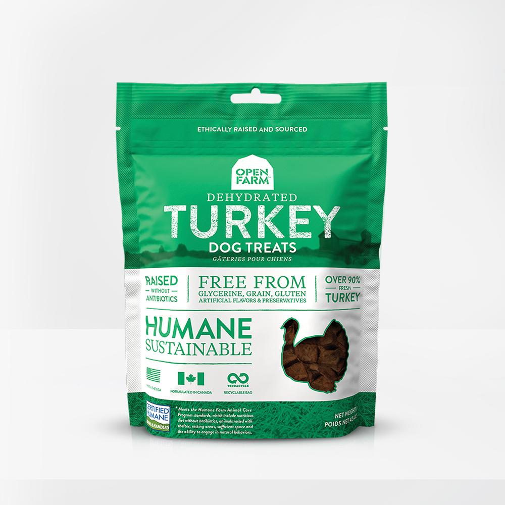 Open Farm Open Farms Treat Dehydrated Dog Turkey