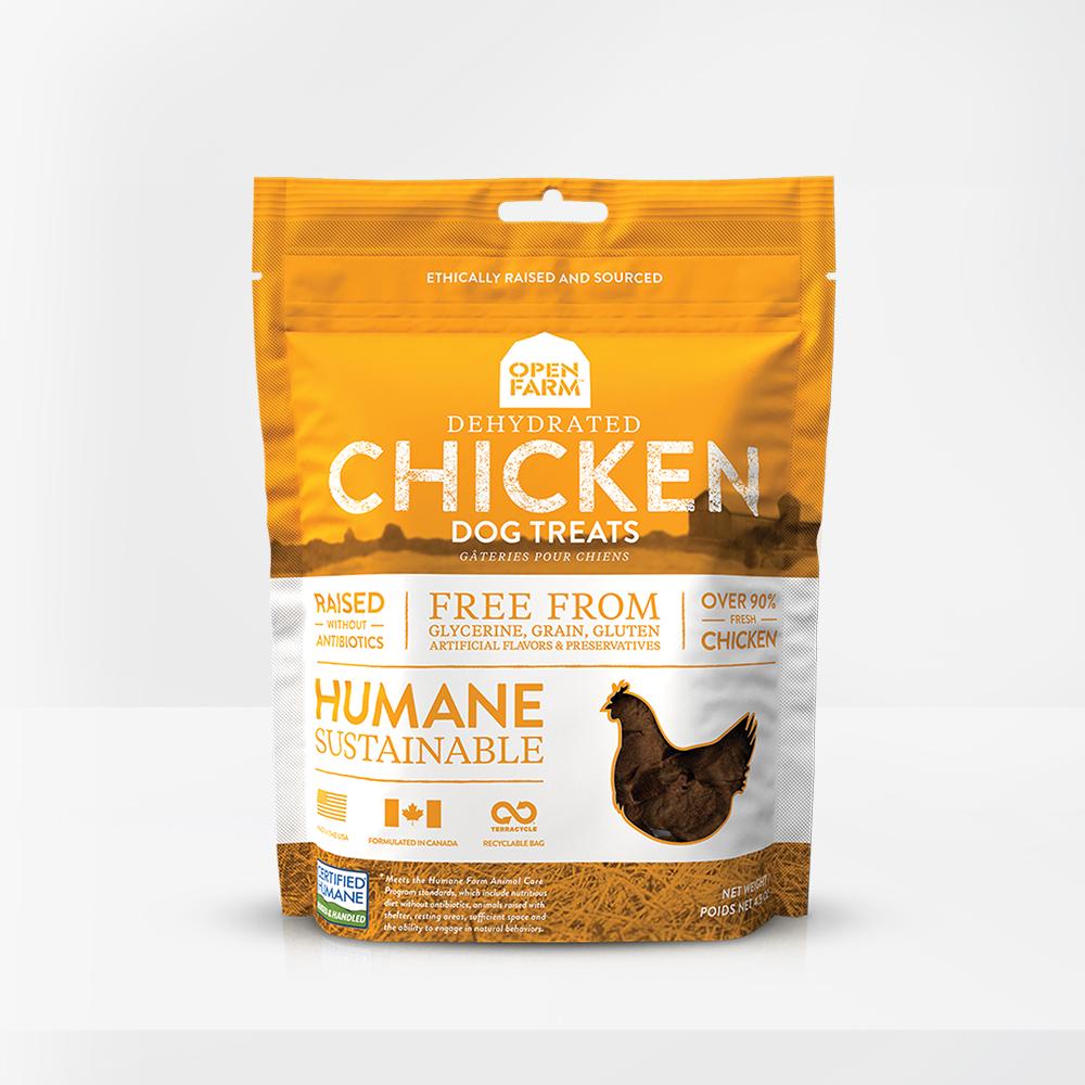 Open Farm Open Farms Treat Dehydrated Dog Chicken