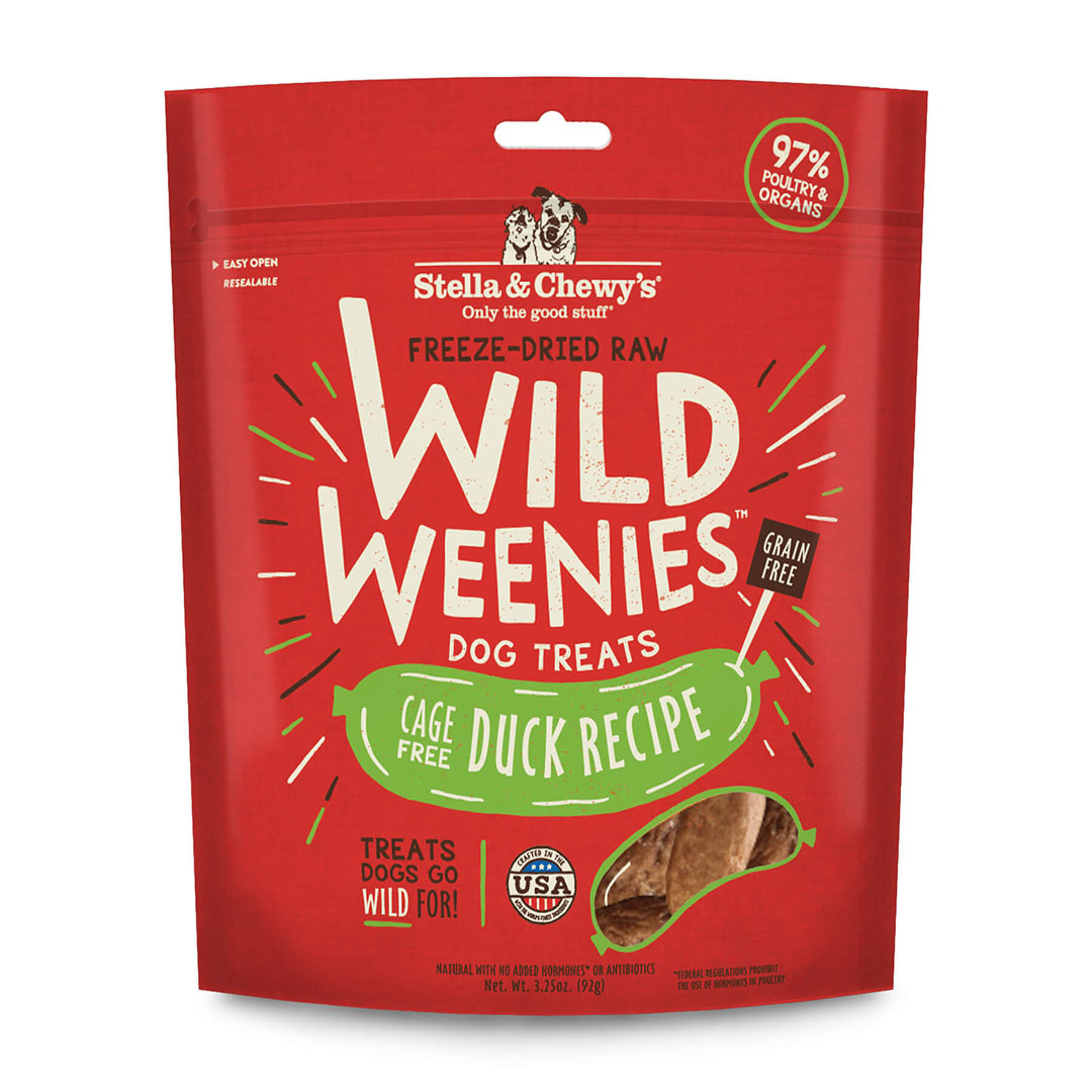 Stella & Chewy's Stella & Chewy's Treat Freeze Dried Dog Wild Weenies Duck 3.25oz