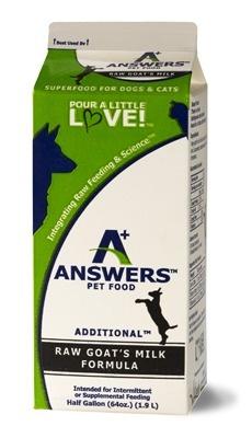 Answers Answers Frozen Raw Goats Milk