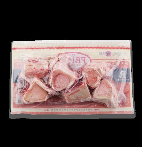 Primal Frozen Raw Beef Bones