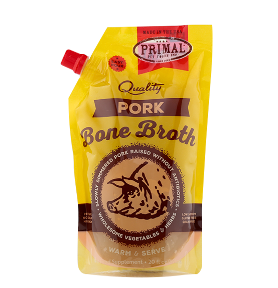 Primal Frozen Bone Broth Pork