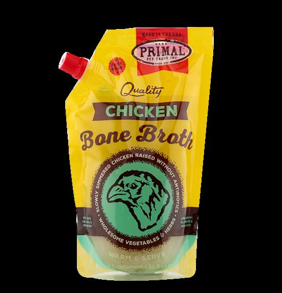 Primal Frozen Bone Broth Chicken