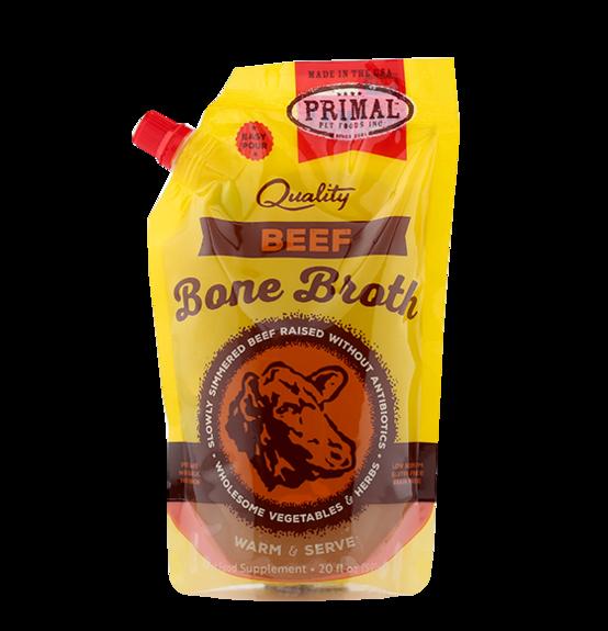Primal Frozen Bone Broth Beef