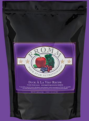 Fromm Fromm Four Star Kibble With Grain Dog Food Duck A La Veg