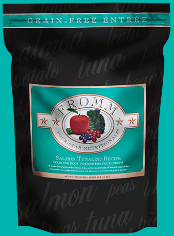 Fromm Fromm Four Star Kibble Grain Free Dog Food Salmon Tunalini