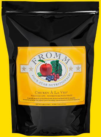 Fromm Fromm Four Star Kibble With Grain Cat Food Chicken Al La Veg