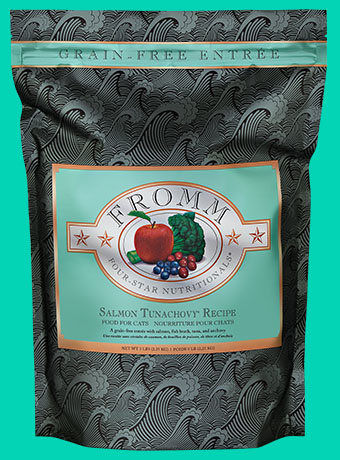 Fromm Fromm Four Star Kibble Grain Free Cat Food Salmon Tunachovy 5#