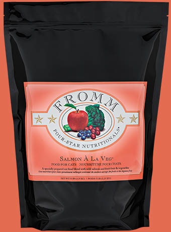 Fromm Fromm Four Star Kibble With Grain Cat Food Salmon Al La Veg 5#