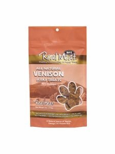 Real Meat Treat Jerky Dog Venison