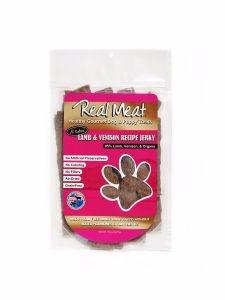 Real Meat Treat Jerky Dog Lamb & Venison