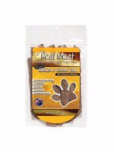 Real Meat Treat Jerky Dog Chicken & Venison