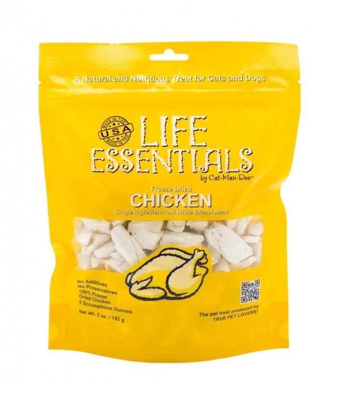 Cat Man Doo Treat Freeze Dried Cat Life Essential Chicken Breast