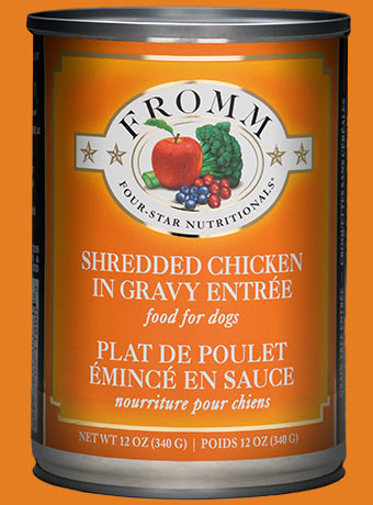 Fromm Fromm Four Star Dog Food Can Shredded Chicken Entree