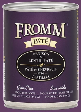 Fromm Fromm Dog Food Can Pate Venison Lentil