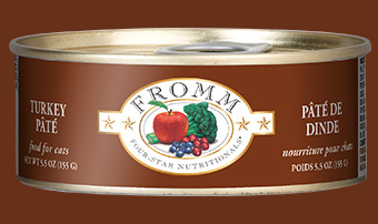 Fromm Fromm Cat Food Can Grain Free Pate Turkey