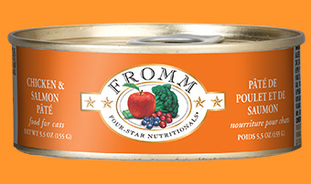 Fromm Fromm Cat Food Can Grain Free Pate Chicken & Salmon