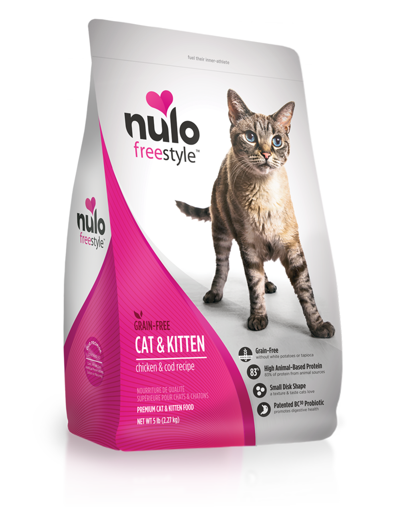 Nulo Nulo Freestyle Kibble Grain Free Cat Food Cat & Kitten Chicken