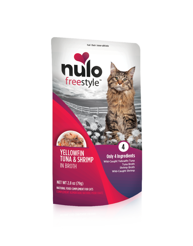 Nulo Nulo Freestyle Cat Food Pouch Grain Free Tuna & Shrimp