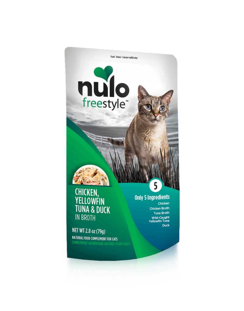 Nulo Nulo Freestyle Cat Food Pouch Grain Free Chicken, Tuna & Duck