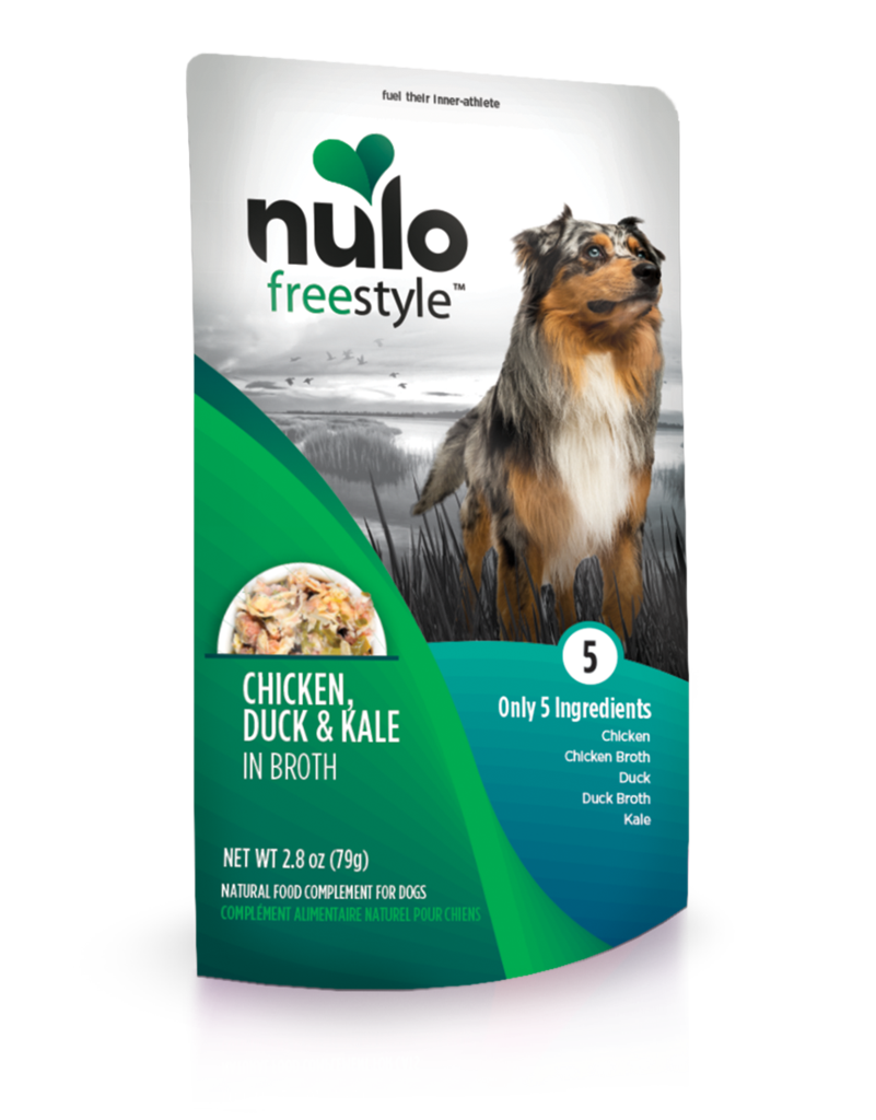 Nulo Nulo Freestyle Dog Food Pouch Grain Free Chicken Duck Kale