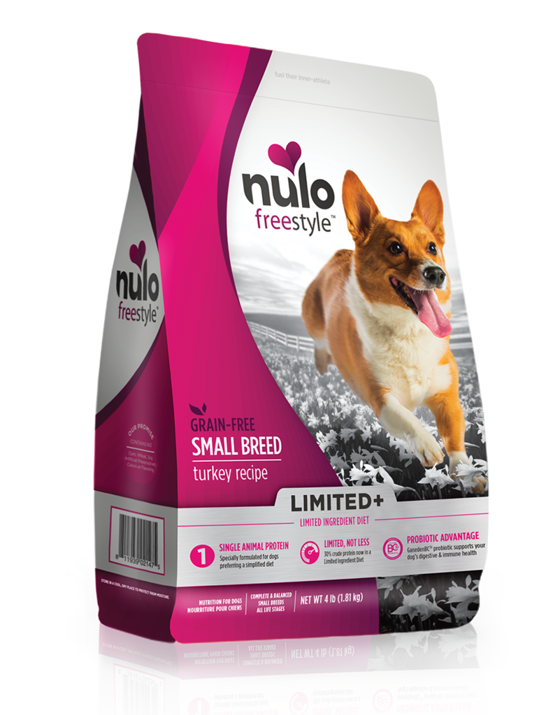 Nulo Nulo Freestyle Limited+ Kibble Grain Free Dog Food Small Breed Turkey