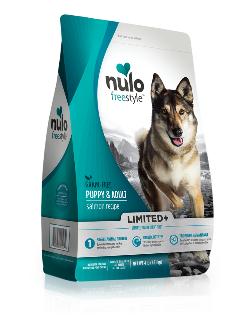 Nulo Nulo Freestyle Limited+ Kibble Grain Free Dog Food Salmon