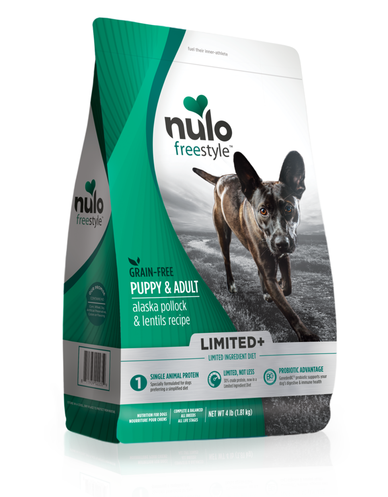 Nulo Nulo Freestyle Limited+ Kibble Grain Free Dog Food Puppy & Adult Pollock