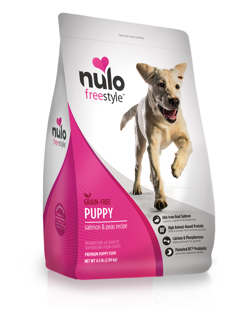 Nulo Nulo Freestyle Kibble Grain Free Dog Food Puppy Salmon