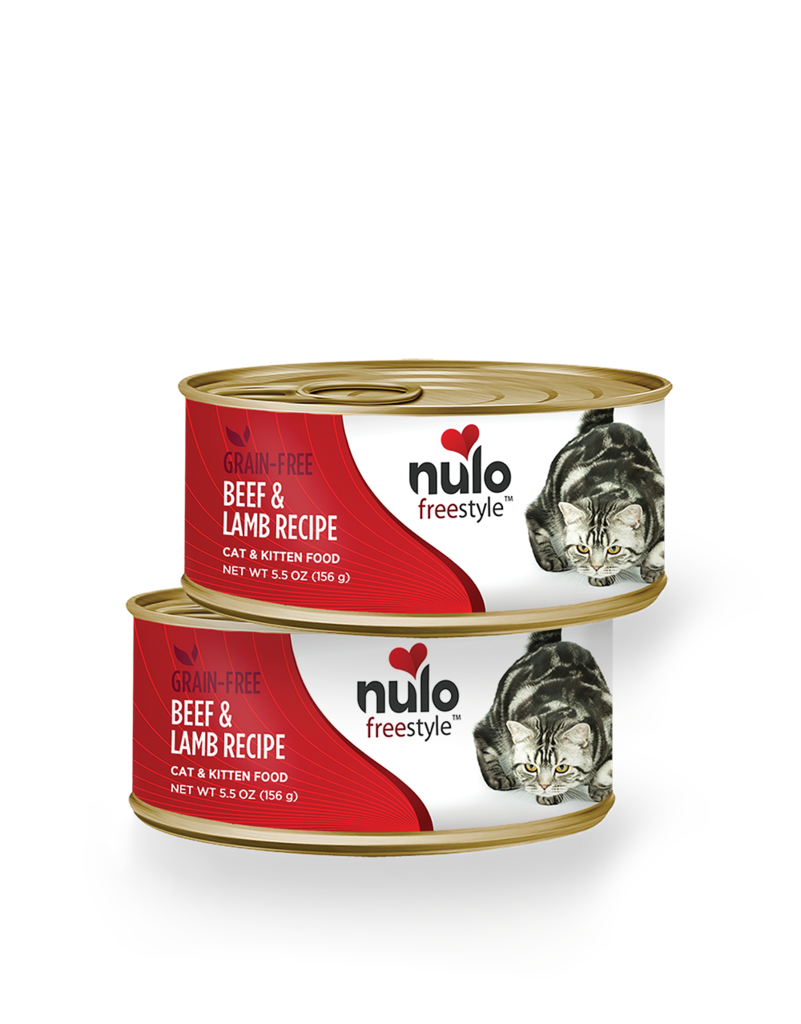 Nulo Nulo Freestyle Cat Food Can Grain Free Beef & Lamb