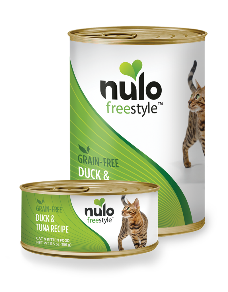 Nulo Nulo Freestyle Cat Food Can Grain Free Duck & Tuna