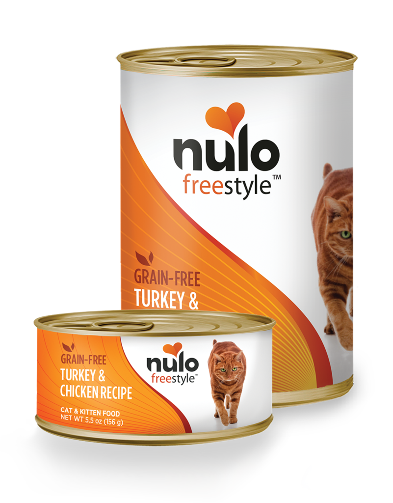 Nulo Nulo Freestyle Cat Food Can Grain Free Turkey & Chicken