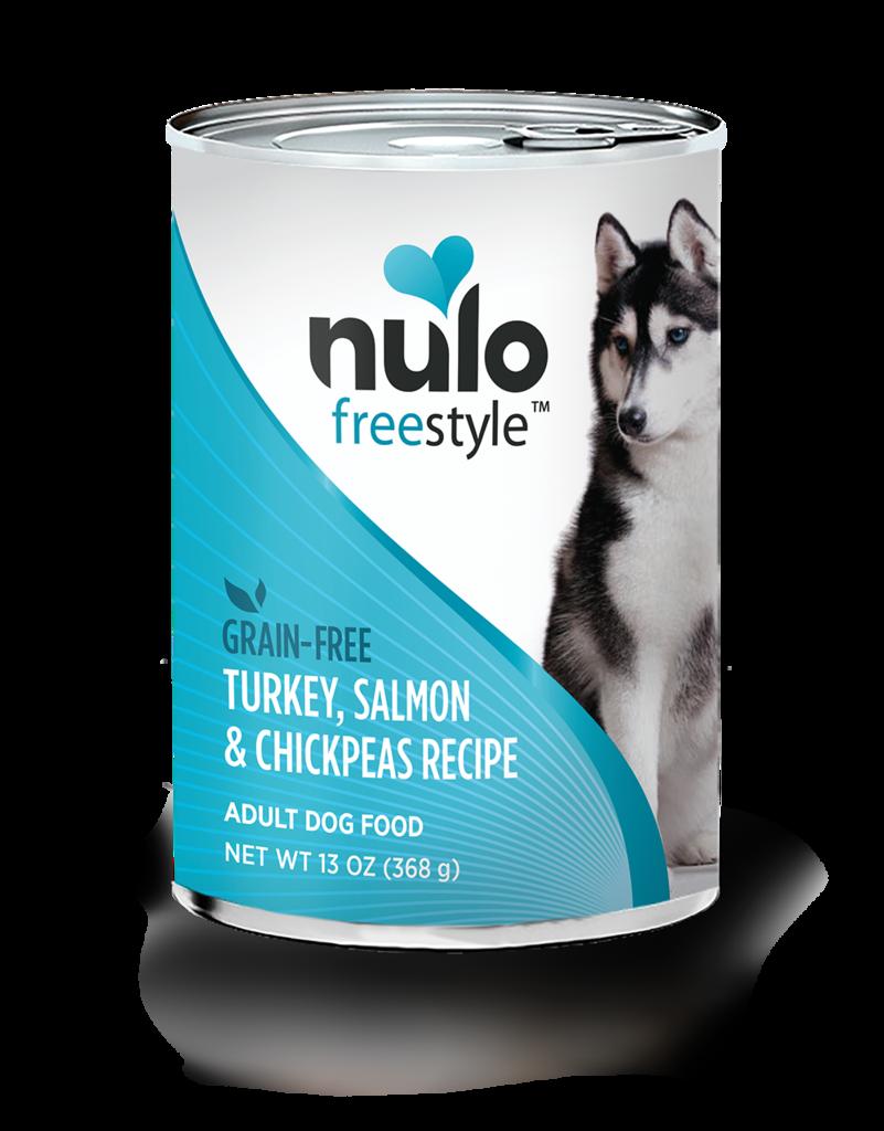 Nulo Nulo Freestyle Dog Food Can Grain Free Turkey Salmon & Chickpea