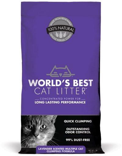 World's Best Litter Original Extra Strength Lavender (PURPLE BAG)