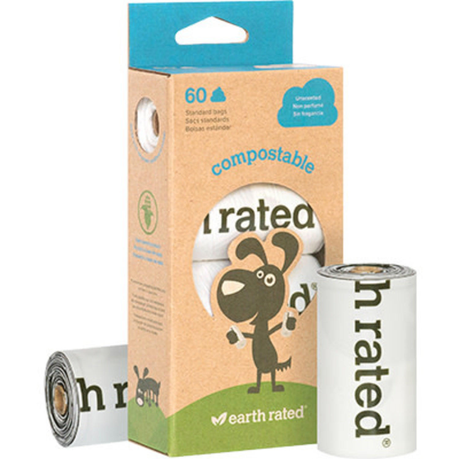 Earth Rated Eco Poop Bag Unscented
