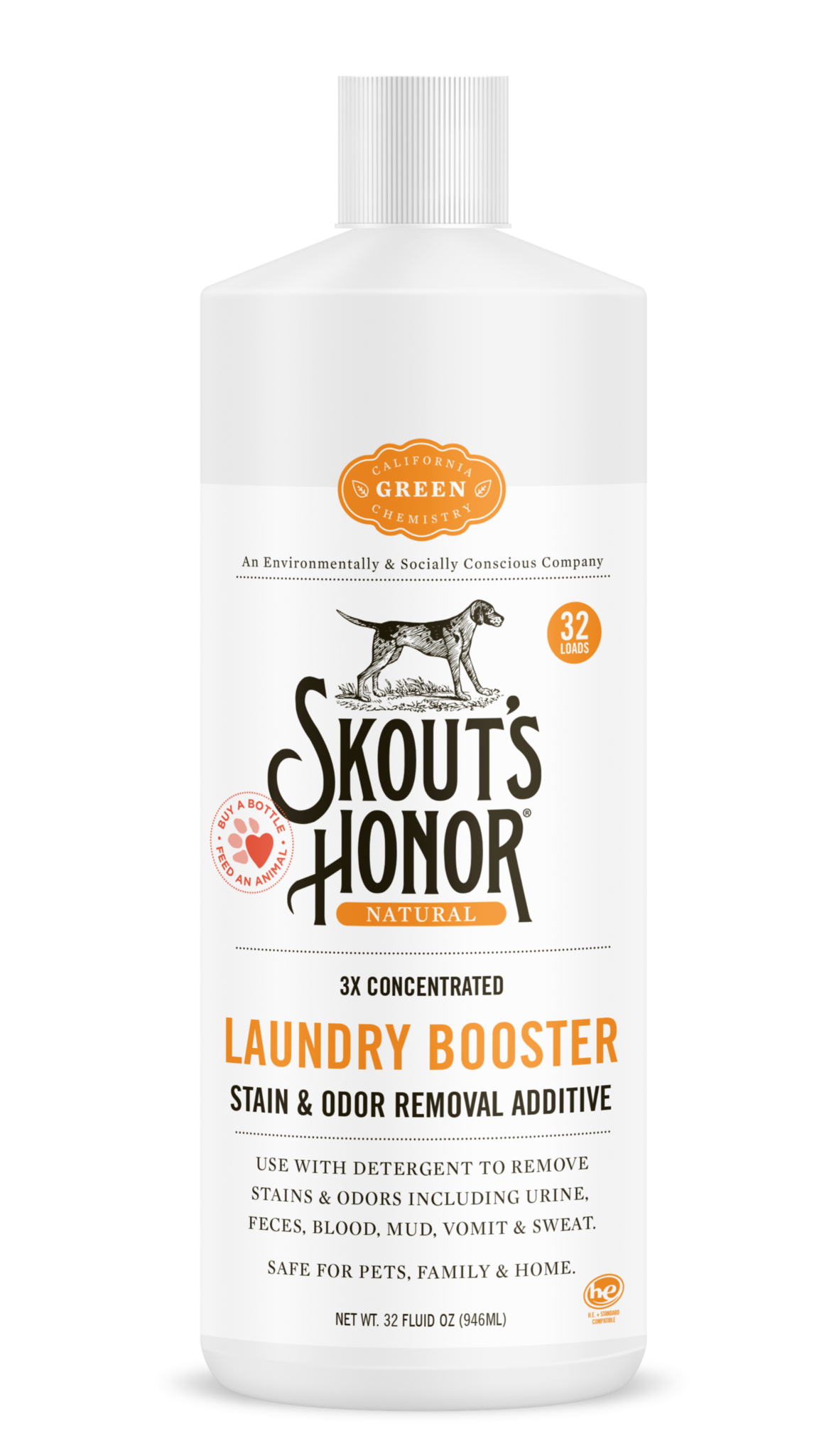 Skout's Honor Cleaner Laundry Booster
