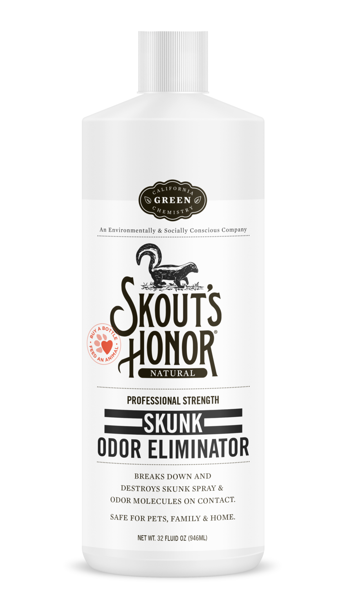 Skout's Honor Cleaner Skunk Odor Eliminator Dog