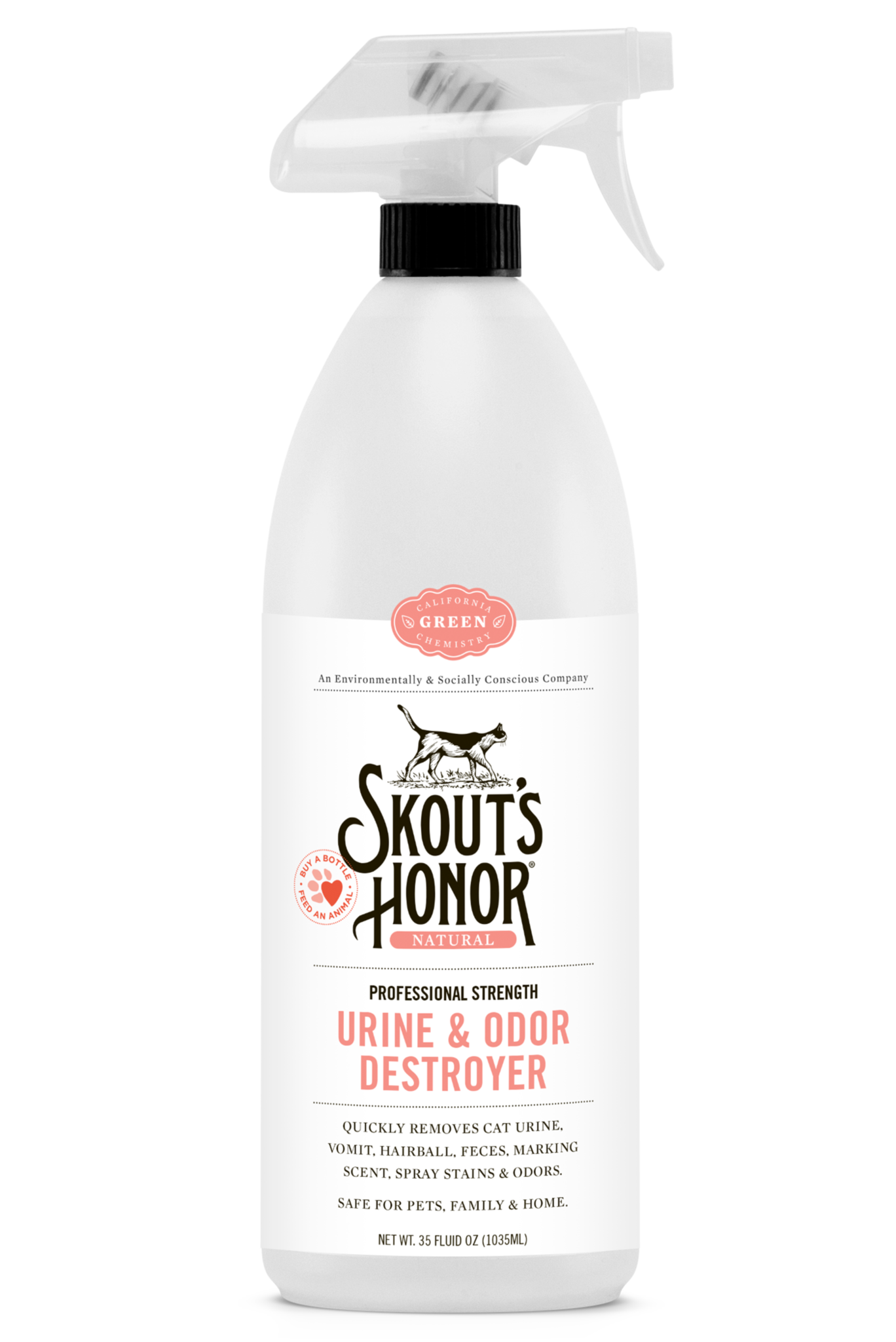 Skout's Honor Cleaner Urine & Odor Destroyer Cat