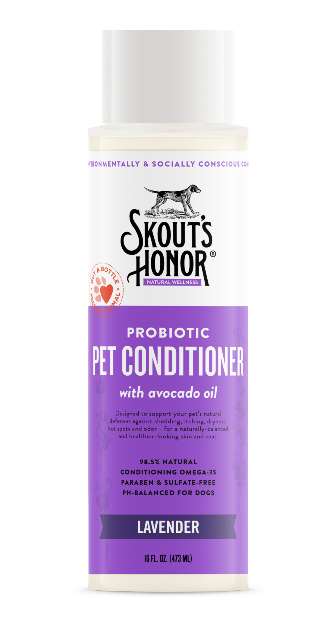 Skout's Honor Shampoo Conditioner 16oz