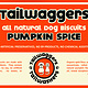 Tailwaggers Tailwaggers Biscuit Treat Pumpkin Spice 10oz