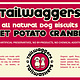 Tailwaggers Tailwaggers Biscuit Treat Sweet Potato Cranberry 10oz