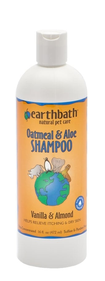 Earthbath Shampoo Oatmeal Aloe Vanilla Almond Scented