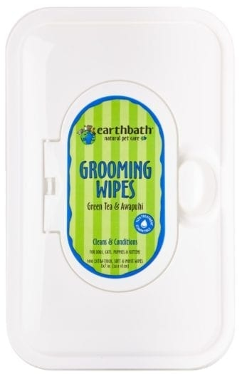 Earthbath Wipes Green Tea