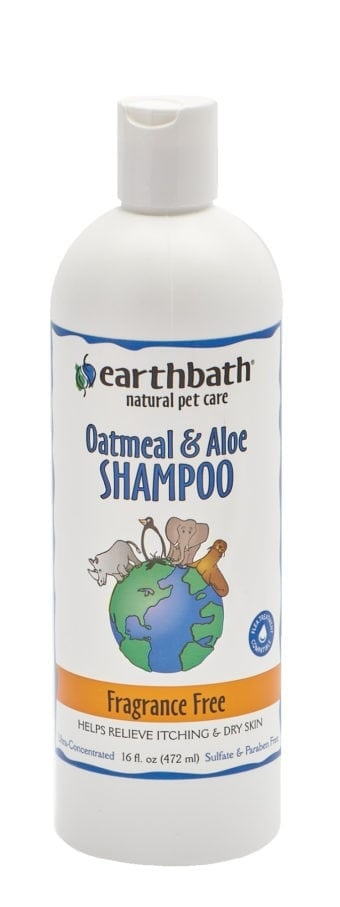 Earthbath Shampoo Oatmeal Aloe (Fragrance Free)
