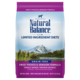 Natural Balance Kibble LID Grain Free Dog Food Venison