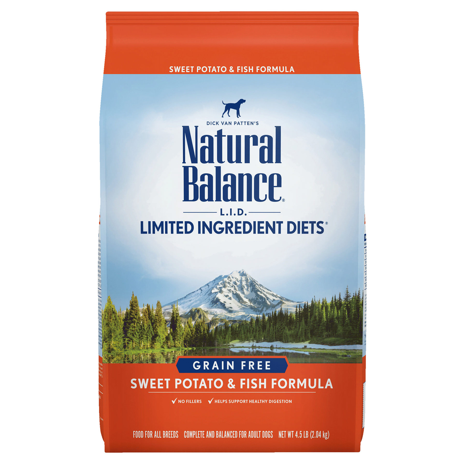 Natural Balance Kibble Grain Free Dog Food LID Fish Salmon