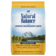 Natural Balance Kibble Grain Free Dog Food LID Duck