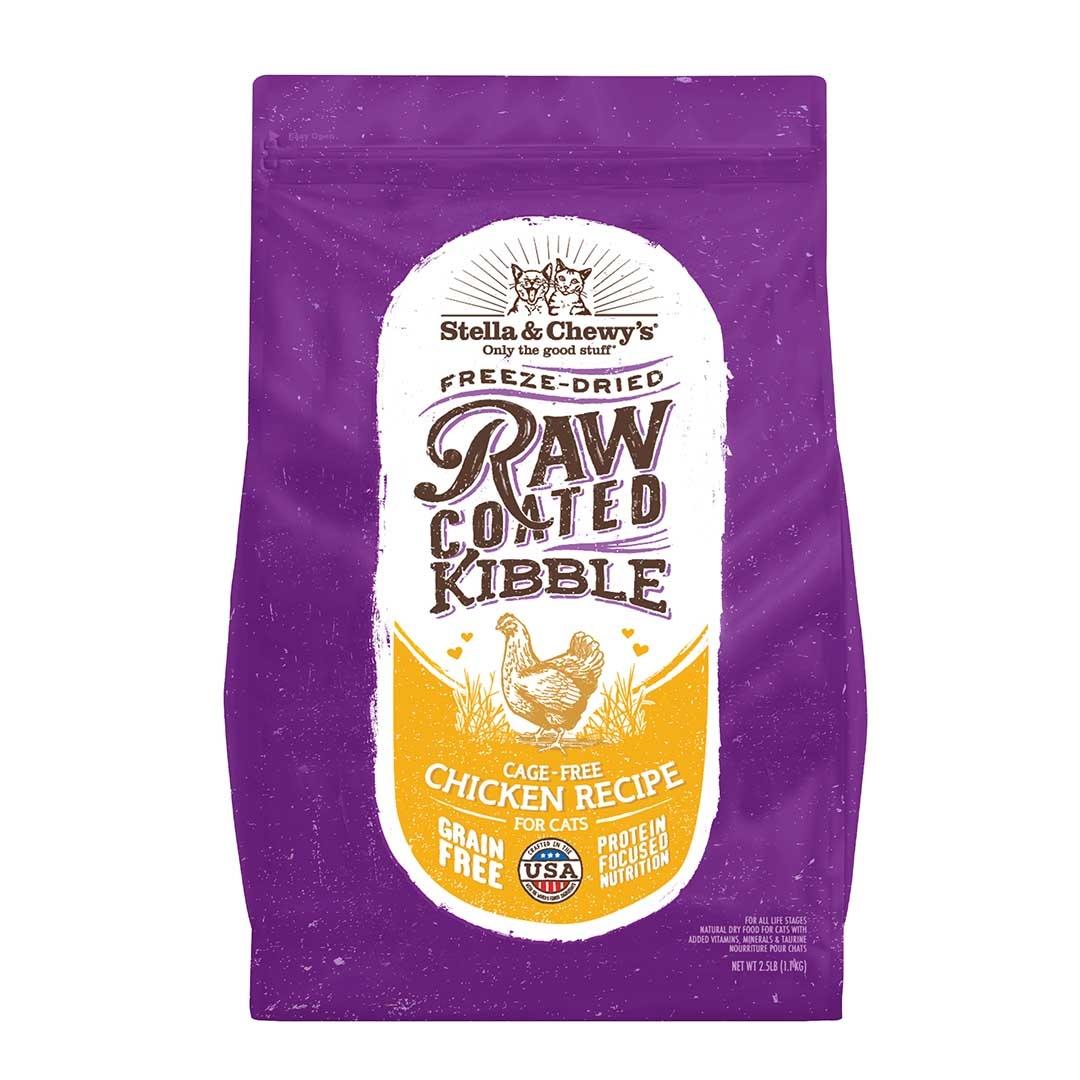 Stella & Chewy's Stella & Chewy's Cat Kibble Grain Free Raw Coated Chicken