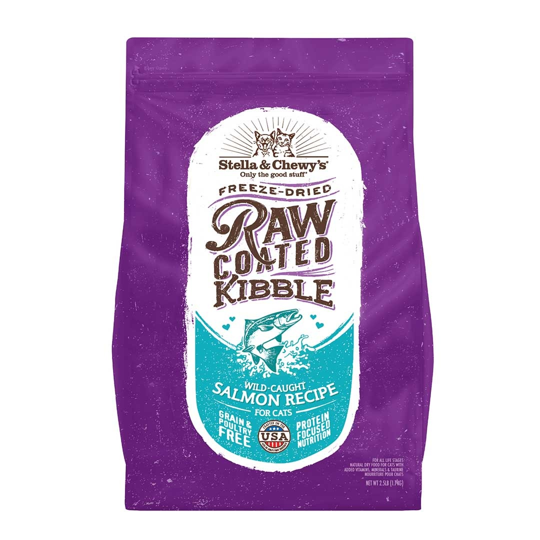Stella & Chewy's Stella & Chewy's Cat Kibble Raw Coated Grain Free Salmon