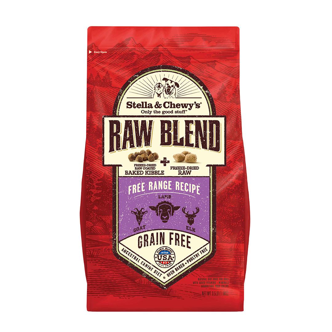 Stella & Chewy's Stella & Chewy's Dog Kibble Raw Blend Grain Free Free Range
